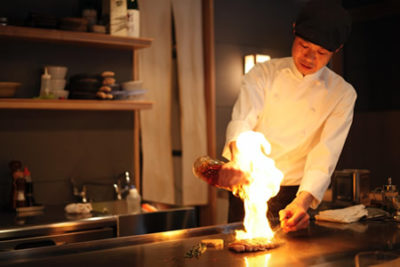 Chef In Action
