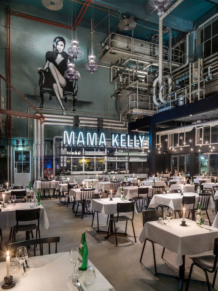 MaMa Kelly Urban Bistro Restaurant By De Horeca Fabriek, The Hague U2013  Netherlands » Retail Design Blog
