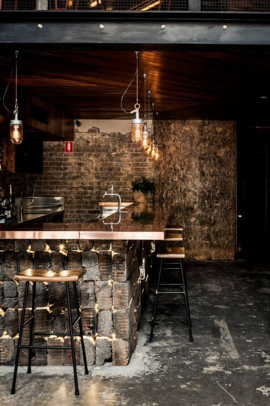 Bar Interiors Design. Taking Creativity Bar Interiors Design ...