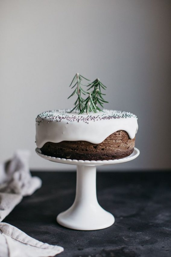 love the one Christmas cake topper