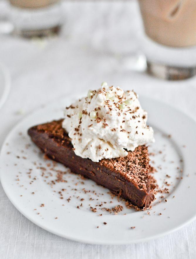 no bake milk chocolate baileys truffle cake