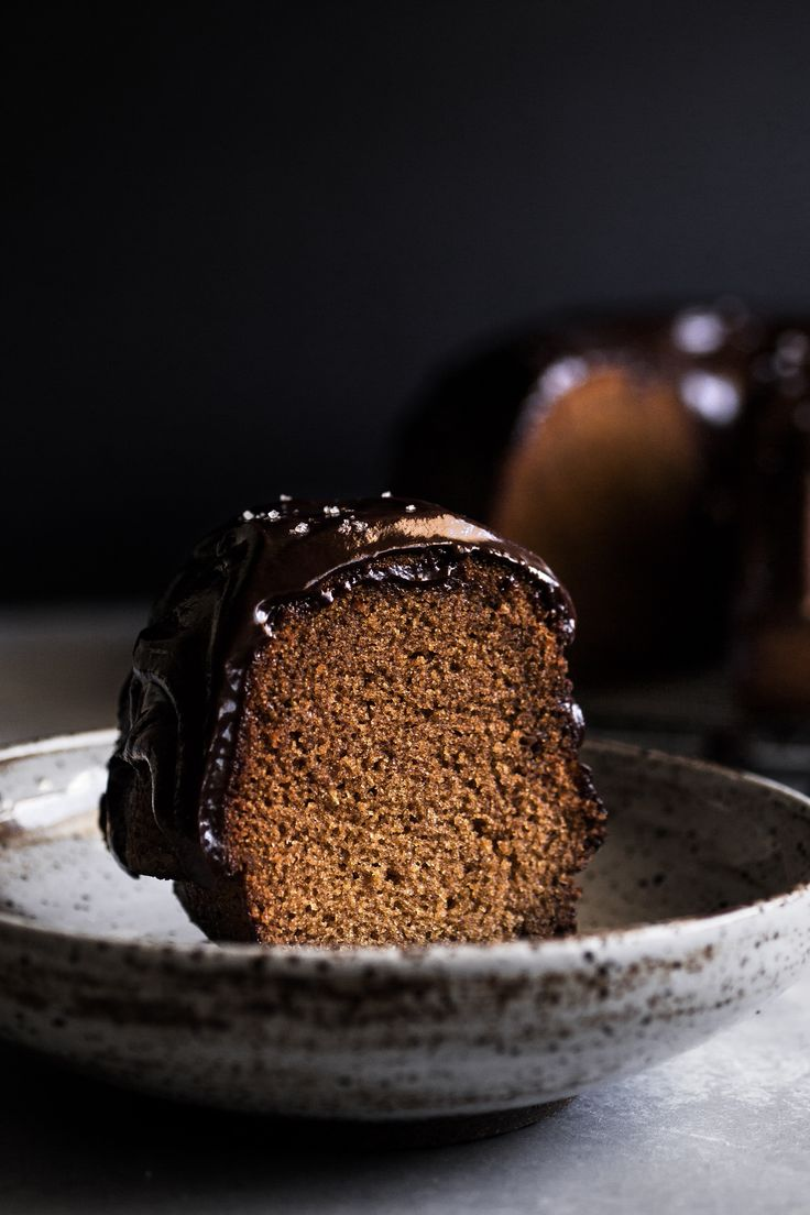 Honey Lavender Bundt Cake