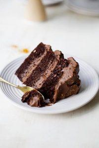 Chocolate Fudge Layer Cake