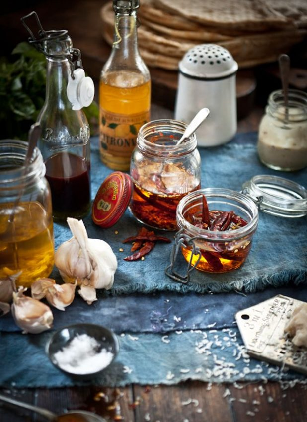 chili oil – I noticed they gave me this in Europe everytime I asked…