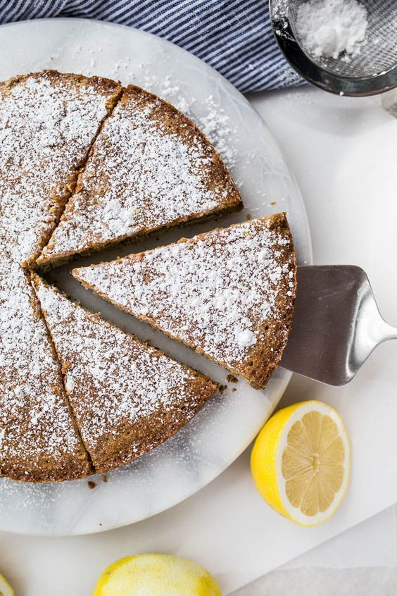 Lemon Poppyseed Cake #glutenfree
