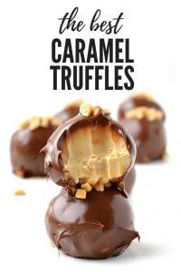 "The BEST Caramel Truffles made in the microwave! Recipe on #dessert explore Pinterest""> #dessert…"