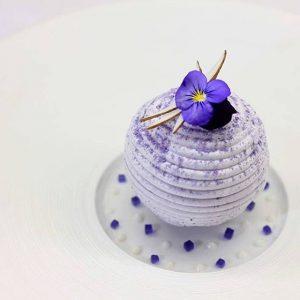 Chef Grégoire Ossiano ¦ lavender coconut berries
