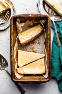 small batch cheesecake