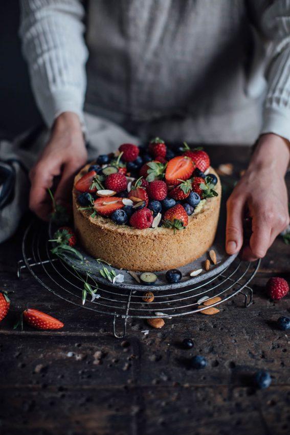 Vegan Baileys Almande Cheesecake