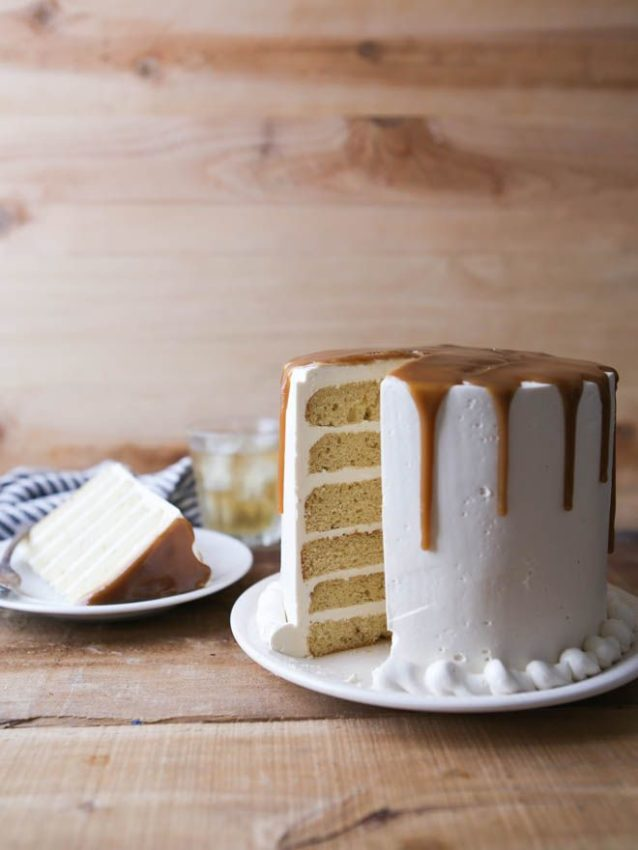 Bourbon Butterscotch Cake