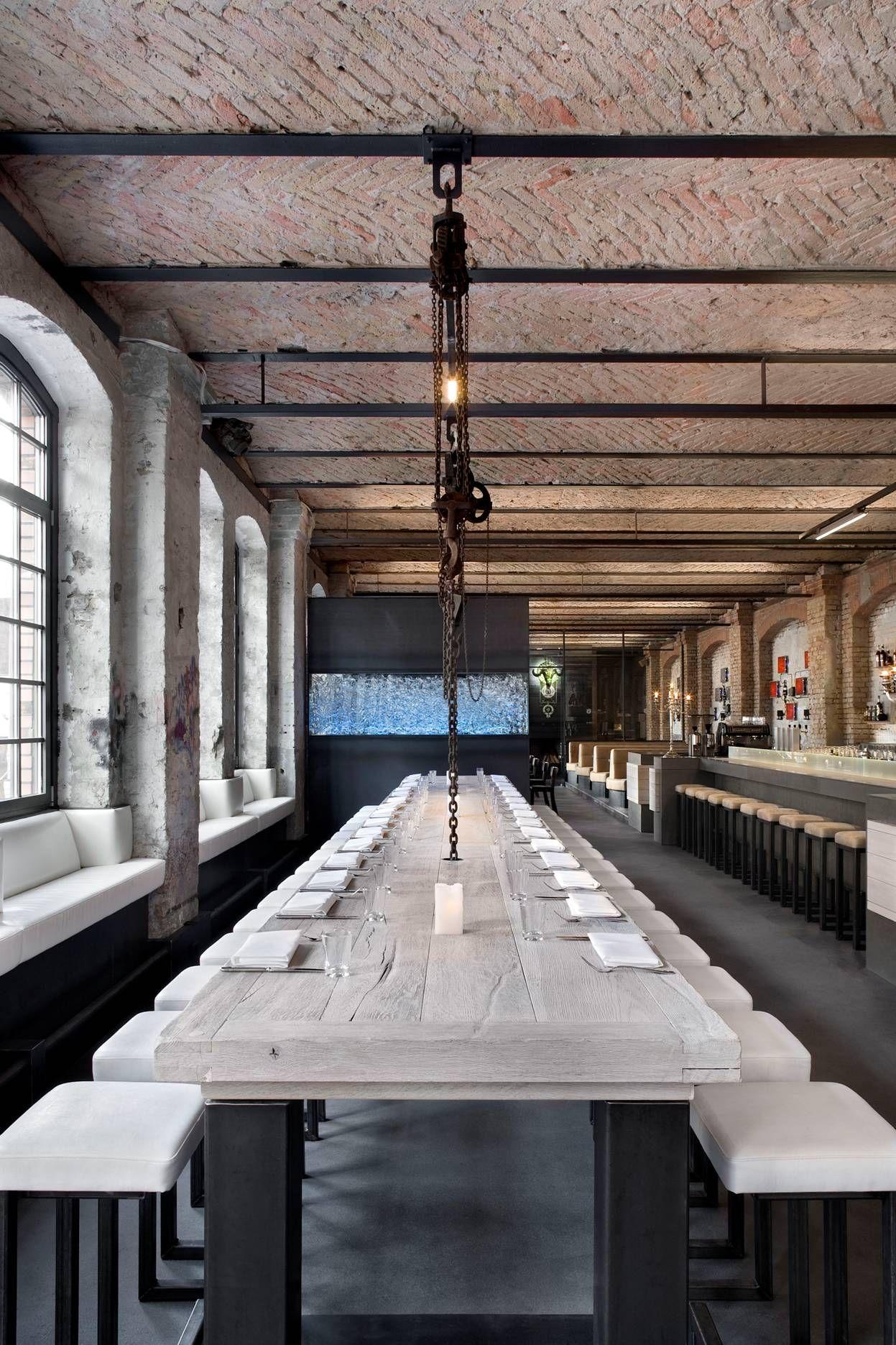 "Sage #Restaurant explore Pinterest""> #Restaurant, #Berlin explore Pinterest""> #Berlin. The ceiling has an industrial…"