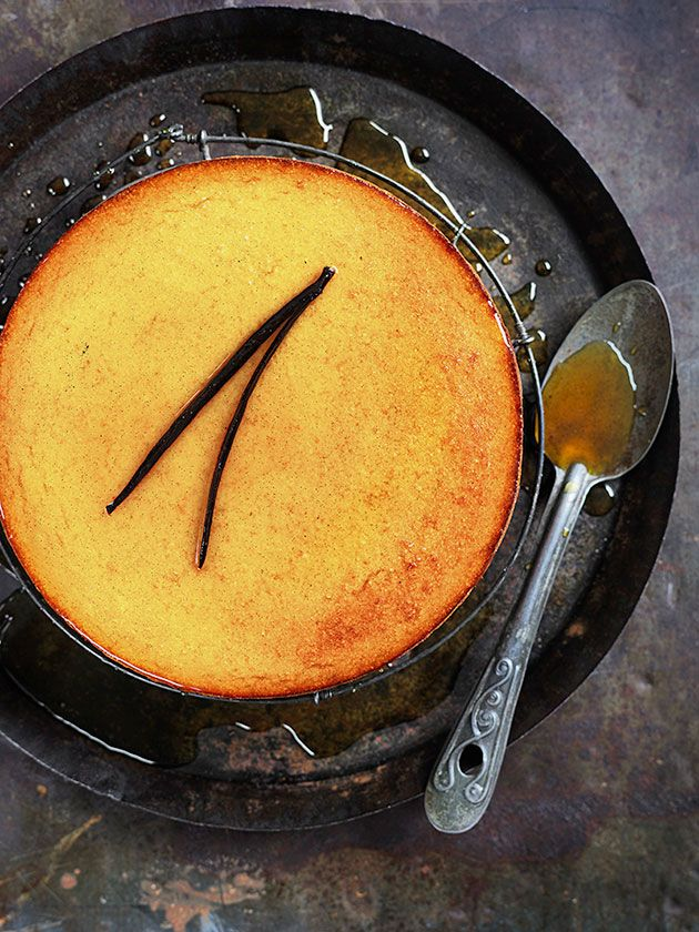 whole orange cake with extra virgin olive oil