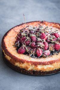 Amaretto and Mascarpone Cheesecake