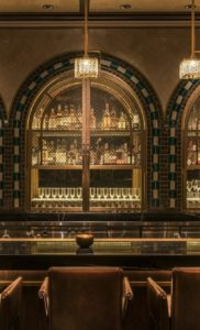 Glamorous and exciting bar decor. See more luxurious interior design details at