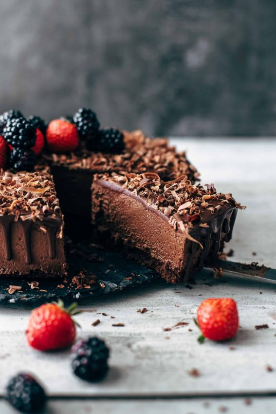 This is THE Chocolate Mousse Cake recipe. Soft and moist chocolate cake layer topped…