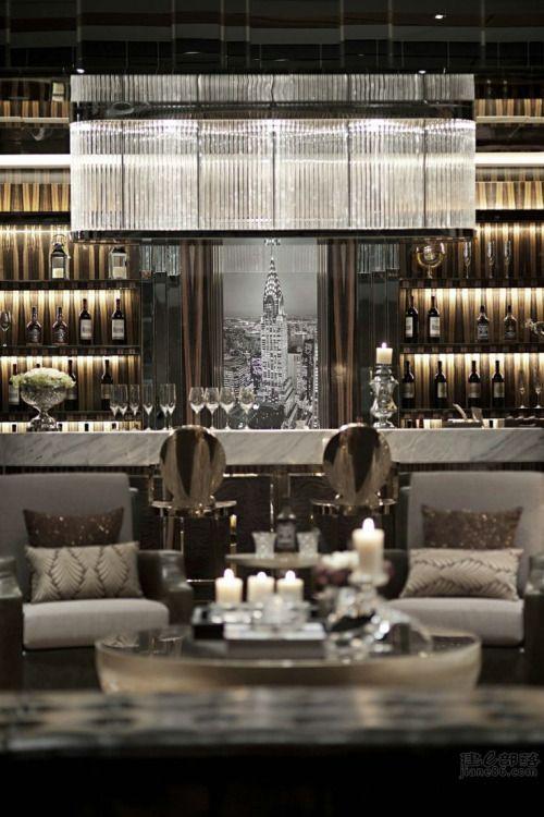 Glamorous and exciting bar decor needs a matching lighting piece. Discover our collection of…