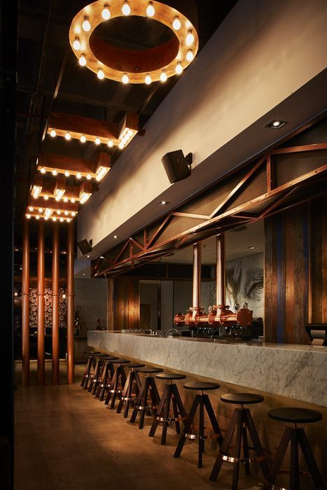 Find out the best luxury bar lighting and furniture selection for your next interior…