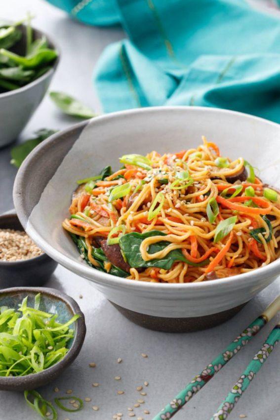 Sesame Stir Fry Noodles