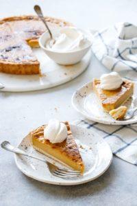 Pumpkin Custard Tart