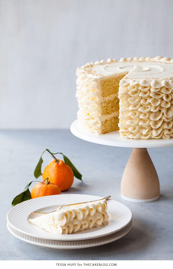 Champagne Mimosa Cake
