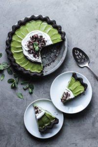 "Matcha Mint Grasshopper Pie #vegan explore Pinterest""> #vegan"