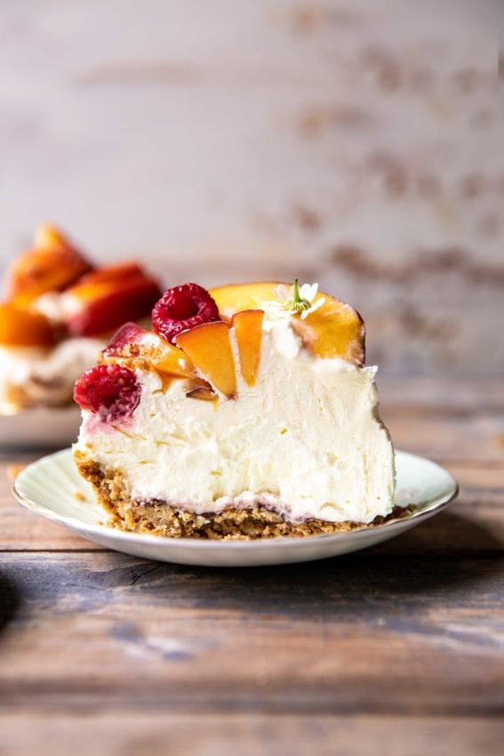 "Peaches and Cream Pretzel Pie | #pie explore Pinterest""> #pie #peach explore Pinterest""> #peach…"