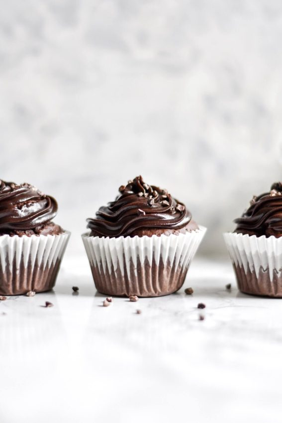 Easy Vegan Chocolate Cupcakes | Shivani Loves Food