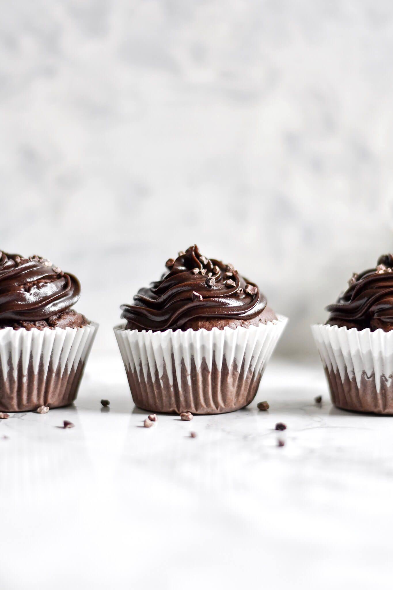 Easy Vegan Chocolate Cupcakes | Shivani Loves Food
