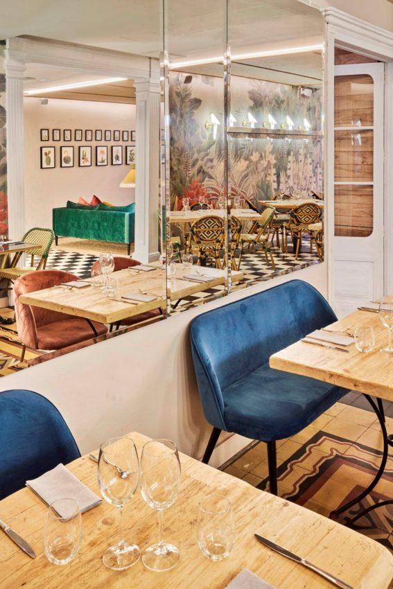Restaurante. Meat Garden | PPT | Piedra Papel Tijera Interiorismo