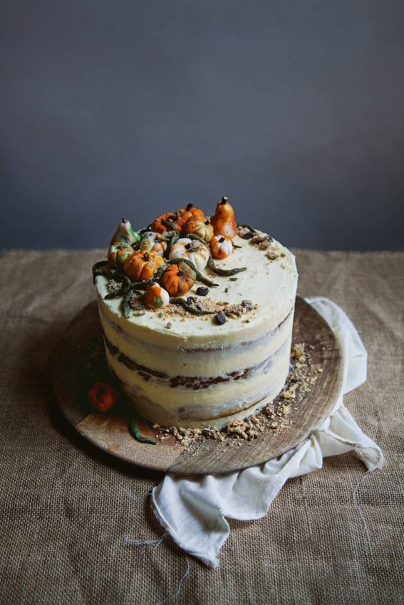 Vegan Cake – Vegan spiced pumpkin layer cake | House & Garden