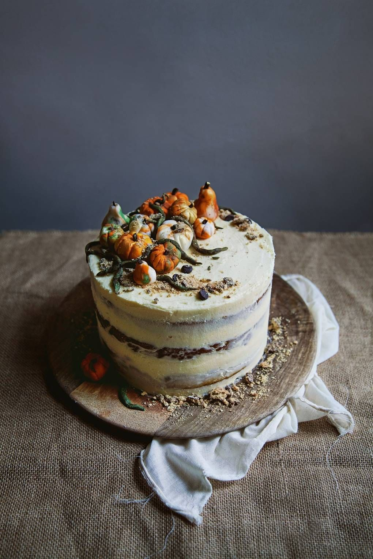 Vegan Cake – Vegan spiced pumpkin layer cake | House & Garden