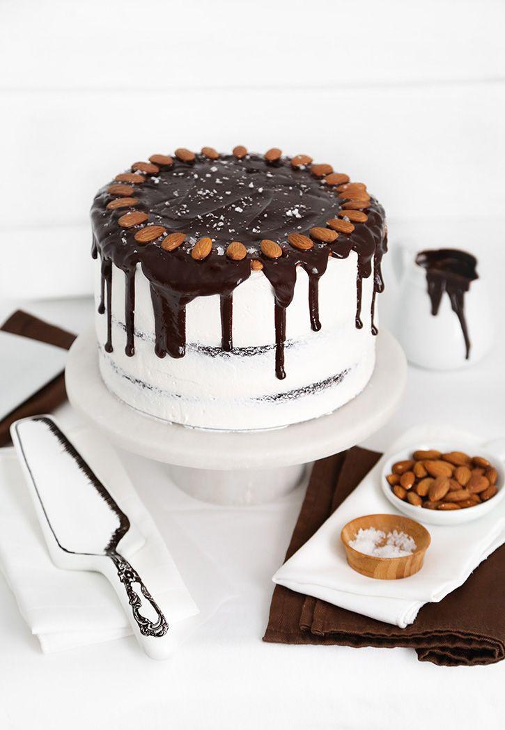 Almond Joy Layer Cake   Sprinkle Bakes