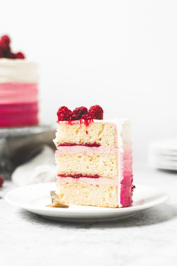 Raspberry Vanilla Layer Cake – Ana's Baking Chronicles