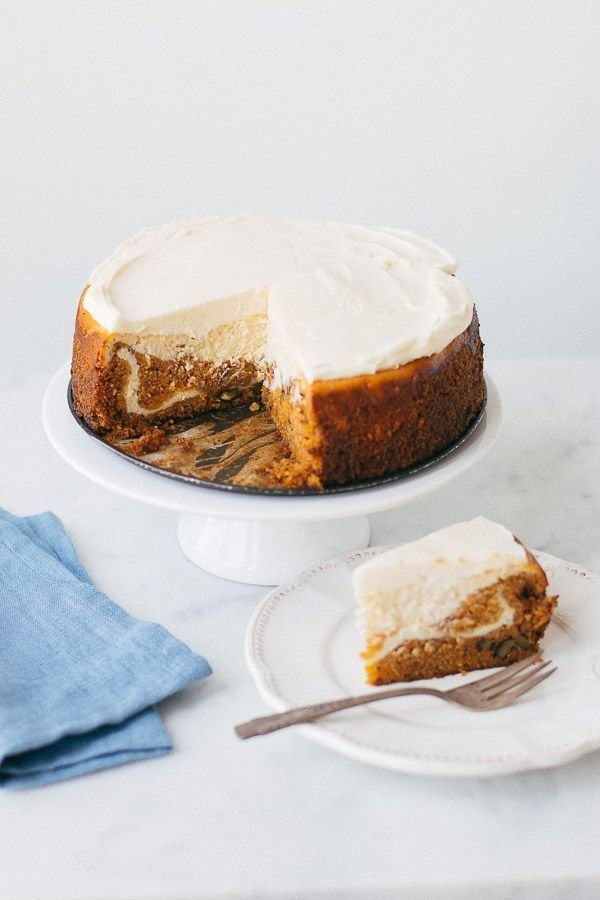 This over-the-top special carrot cake cheesecake is so moist it will melt in your…