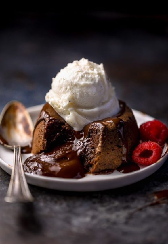Grand Marnier Molten Chocolate Cakes – Baker by Nature